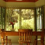 Dining views from your cottage