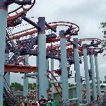 Mad mouse ride