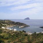 View from Chora (Kythira town)