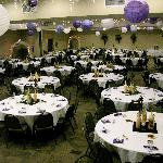 Convention space for weddings