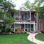 View of Patriot House Bed & Breakfast Rear