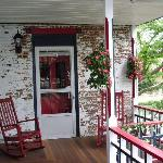 Patriot House Balcony Porch (shared by two suites)