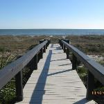 Boardwalk to the ocean!!