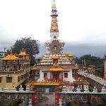Tashi Gomang Stupa across the road