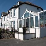 The Bay Hotel, showing the dining conservatory.