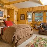 The Creekside ... one of our dog friendly cabins.
