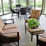  Screened Porch in back - very private and comfortable.
