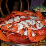 The lobster we cooked from bay haven
