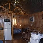 Right before we left.. Cute little cabin:)