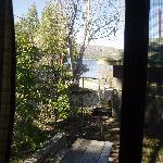 View from kitchen window Lonepine #107
