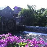 The Old Mill, just behind the hotel and visable from some balconies