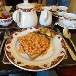  Beans on toast breakfast