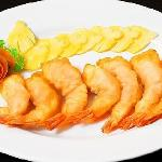 deep fried prawns