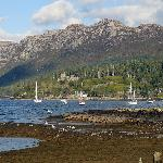 Duncraig Castle seen from Plockton