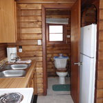 Sample lakefront cabin interior