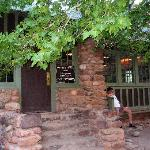 Historic Phantom Ranch canteen