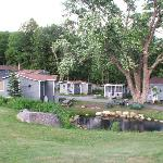 Pond & Riverside Cabins