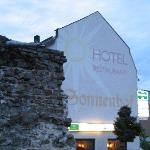  Hotel Sonnenhof at twilight...