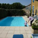 Pool at Bastide Cabazac