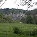 Leeds Castle from public footpath