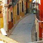 A Typical narrow street