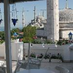 Terrasse views over the Blue Mosque
