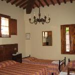  Our 4 bed room at the Villa Maya