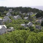 Monhegan Village