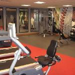 Gym open 24/7 - good equipment!
