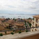 View from top Floor towards La Manga