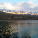 "View from room "" The Remarkables"" mtns"