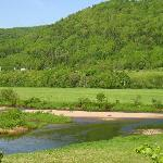  River fishing in the Margaree