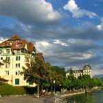  The River Aare walk in Thun