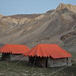  Camping site at Sarchu on Manali-Leh Road