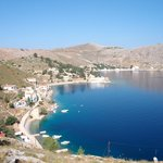 a beautiful walk from Symi Town to Emborio