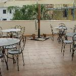  terrazza per la colazione o altro