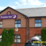  The front of the premier inn