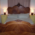  the lovely antique bed