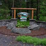 Entrance to Cabins