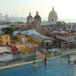 Rooftop Pool & view of San Pedro