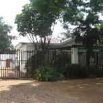 entrance to hostel