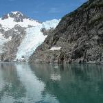 Glacier in Kenji National Park