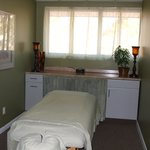  One of the massage rooms