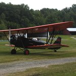 Vintage Mail Plane used for rides