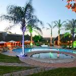 The Ranch Resort Protea Hotel The Ranch - Swimming Pools Night