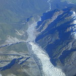 Fox Glacier from Wilderness Wings flight