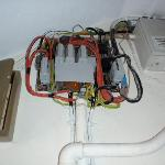 open electrics box