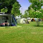 Rural campsite with spacious pitches
