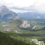 View from the gondola, Rimrock and beyond