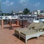 Roof top space at shilton tranquil